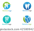 Dental Care Logo and symbols vector template 42580942