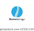 Spine diagnostics symbol logo template 42581130