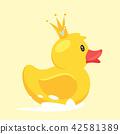 bird crown duck 42581389