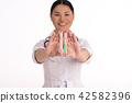 nurse, medicine, woman 42582396