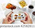 스마트폰, 촬영, 중국요리 42582611