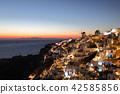 Sunset in Santorini, Greece 42585856