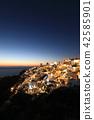 Sunset in Greece, Santorini, Oia 42585901