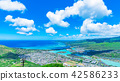 从夏威夷瓦胡岛可可头的夏威夷凯的风景 42586233