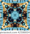 Abstract endless pattern. 42586834
