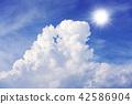Cumulonimbus และดวงอาทิตย์ 42586904