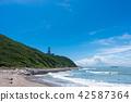 cape irago, summer, blue water 42587364