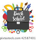 back to school vector design 42587401