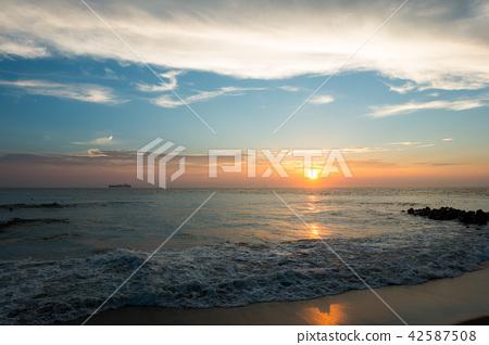 [아이 치현] 伊良湖岬 석양 끝 42587508