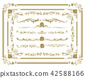 decorative border frame 42588166
