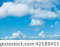 藍天天空背景背景材料 42589455