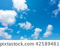 藍天天空背景背景材料 42589461
