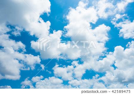 藍天天空背景背景材料 42589475
