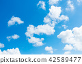 藍天天空背景背景材料 42589477