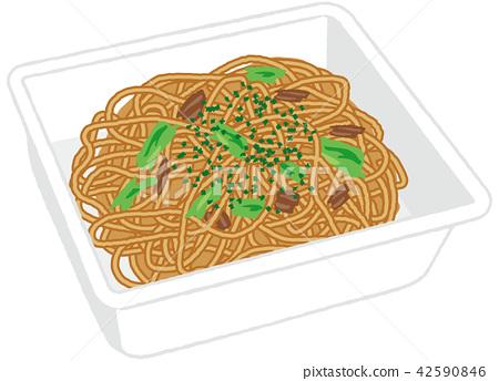 บะหมี่,โซบะทอด,อาหาร 42590846