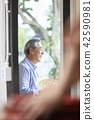 생활,노인,남자,한국인 42590981