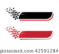 Race flag icon template illustration design 42591284