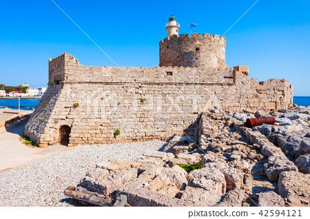 Saint Nicholas Fort, Rhodes island 42594121