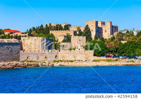 Rhodes old town in Greece 42594158