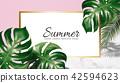 Summer decorative design 42594623