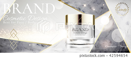 Cosmetic cream jar 42594654