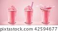 Strawberry ice shaved mockup 42594677