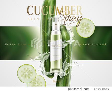 Cucumber skin care spray 42594685