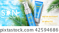 Sunscreen tube product 42594686