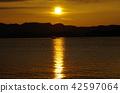 พระอาทิตย์ตกและเจ็ทสกี 42597064