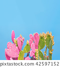 cactus, minimal, art 42597152