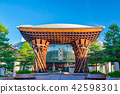 Kanazawa Station Kenrokuen Gorge mouth gate 42598301