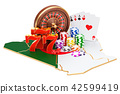Casino and gambling industry in Algeria concept 42599419