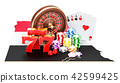 Casino and gambling industry in Egypt concept 42599425