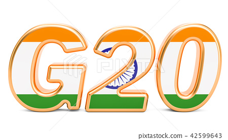 Summit G20 concept. Indian G20 meeting 42599643