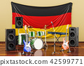 Music, rock bands from Germany concept 42599771