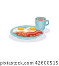 bacon, egg, food 42600515