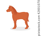 animal, vector, horse 42601070
