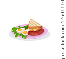 egg, food, toast 42601110