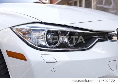 Car, parking lot, Korea 42602172
