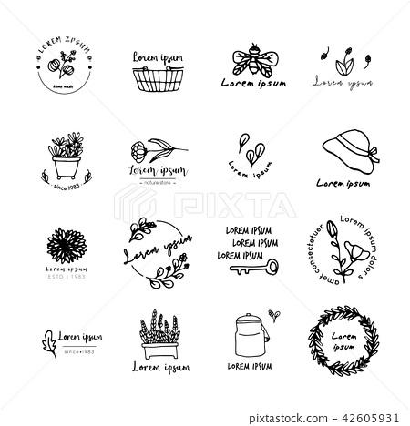 Ideas for logo design, doodle drawing,flat design 42605931