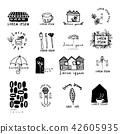 Ideas for logo design, doodle drawing,flat design 42605935