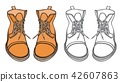 Shoes boots vector 42607863