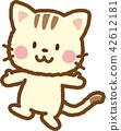 สัตว์,ภาพวาดมือ สัตว์,ยิ้ม 42612181