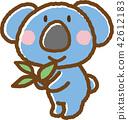 koala bear, koala, eucalyptus 42612183