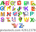 Animals alphabet set 42612378