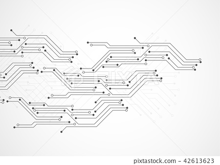 Abstract Background With Technology Circuit Board