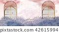 Retro garden background 42615994