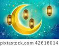 Islamic holiday background 42616014