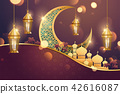 Islamic holiday background 42616087