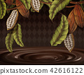 Cacao plant background 42616122